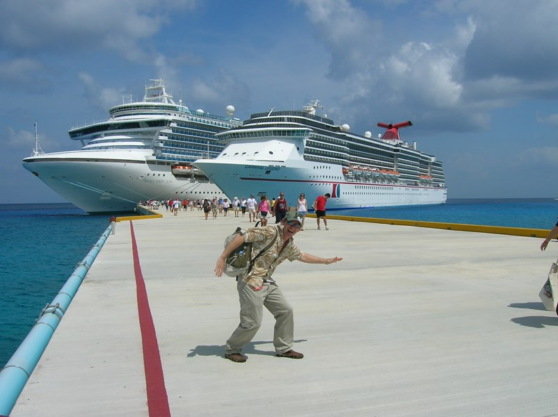 My tour bus, COZUMEL