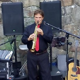 Lancing Saxophonist | JERRY FORDHAM-Vocal/Multi-Instruments/-Band-Of-One