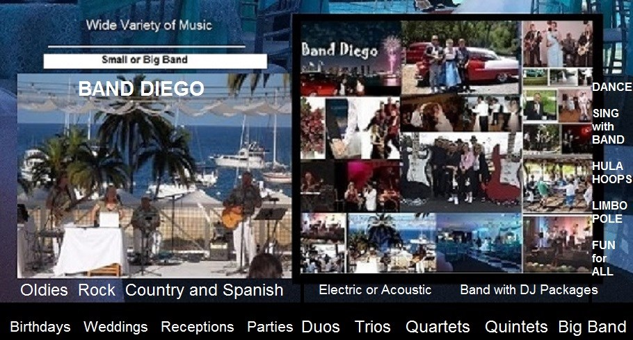 Band Diego - Oldies Band - San Diego, CA