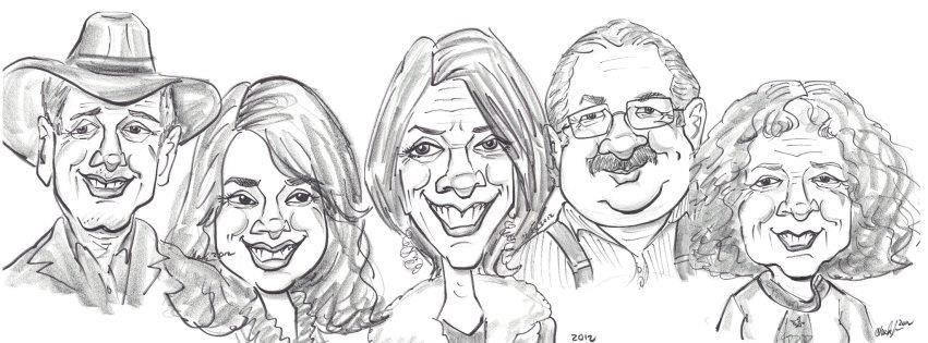 Caricatures By Lisa