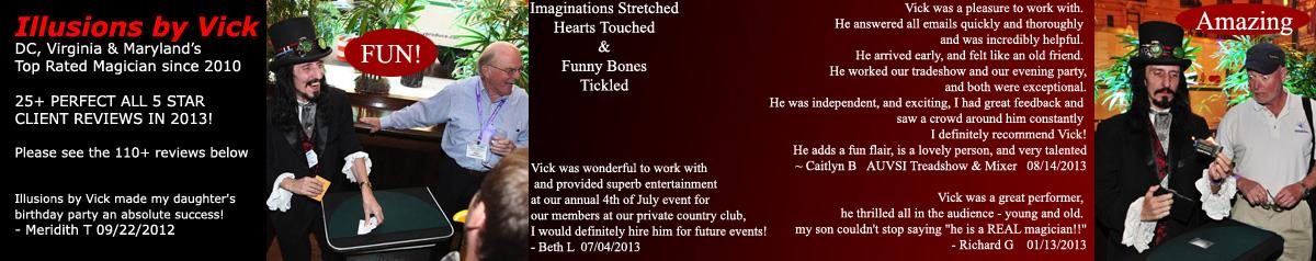 Illusions By Vick ~ Amazing Magical Entertainment