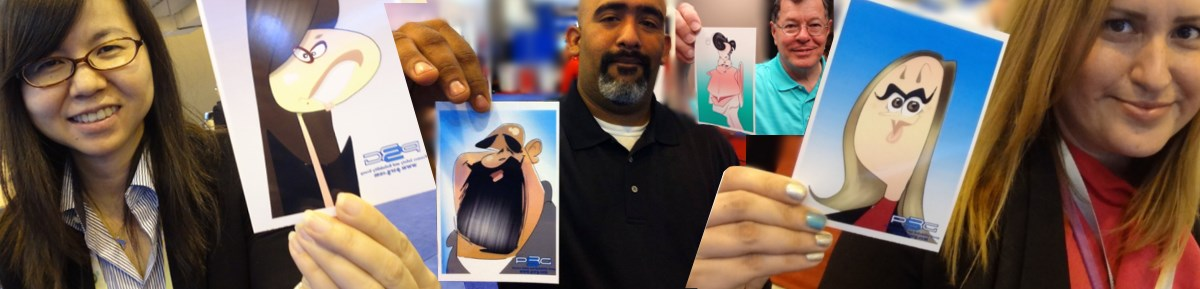 Mac Garcia - LIVE Digital Caricatures