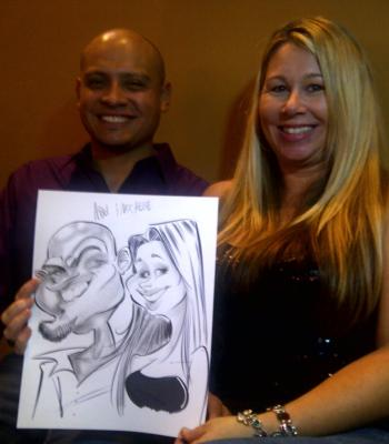 Caricatures By Mac Garcia | Houston, TX | Caricaturist | Photo #16