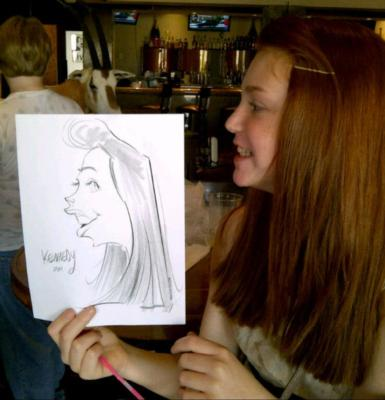 Caricatures By Mac Garcia | Houston, TX | Caricaturist | Photo #7
