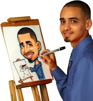 Caricatures By Mac Garcia | Houston, TX | Caricaturist | Photo #1