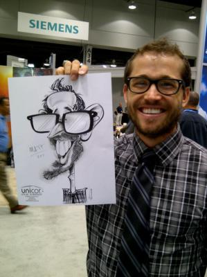 Caricatures By Mac Garcia | Houston, TX | Caricaturist | Photo #12