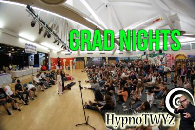 Grad Night fun WIth Comedy Hypnosis