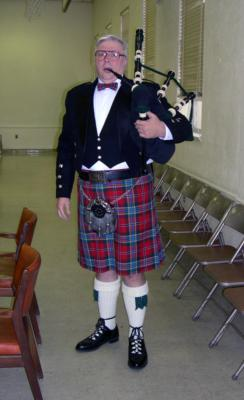 Al Baker | Lincroft, NJ | Celtic Bagpipes | Photo #1