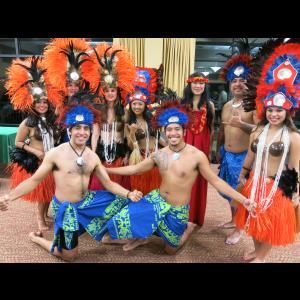 Wanchese Salsa Dancer | East cost hula Pacific Island Revue Entertainment