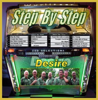 Desire's first CD Step By Step