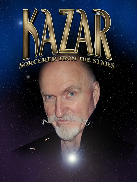 Kazar, Sorcerer From The Stars - Magician - Chicago, IL