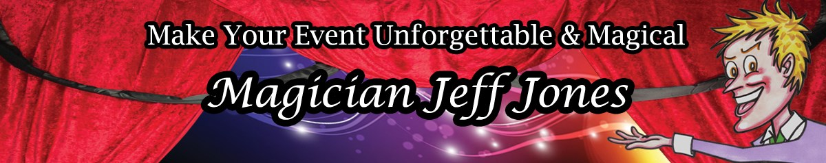 Magician Jeff Jones