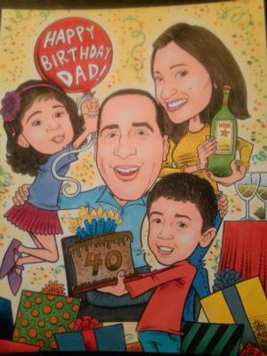 FACE iT! Studios LLC | Wyckoff, NJ | Caricaturist | Photo #24
