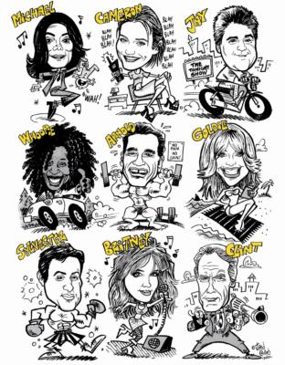 FACE iT! Studios LLC | Wyckoff, NJ | Caricaturist | Photo #2