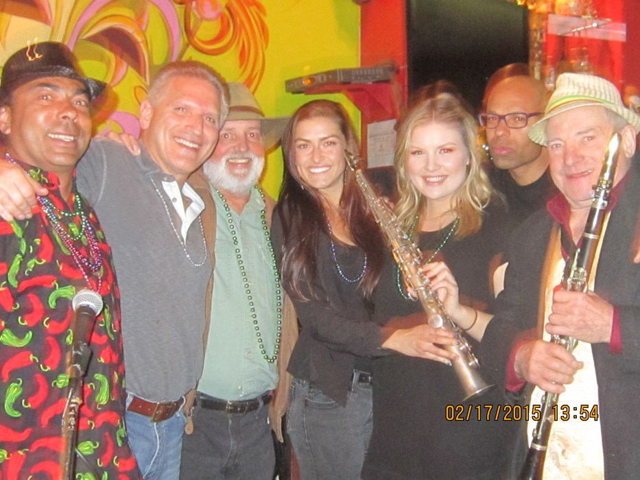 Fat Tuesday Santa Cruz 2015 Quartet