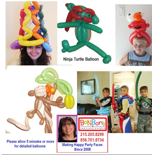 Bonbon's Parties & Events - Balloon Twister - Sicklerville, NJ