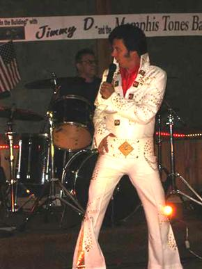 """JIMMY D"" Dunton ""Elvis is in the Building!"" 