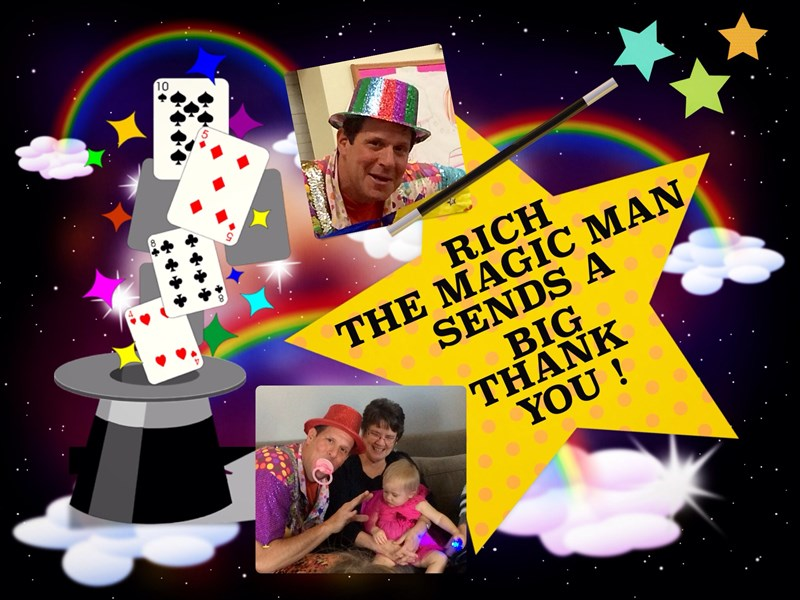 Rich The Magic Man Show