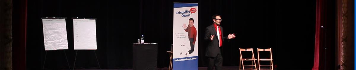 Kristoffer Olson, Funny Magician