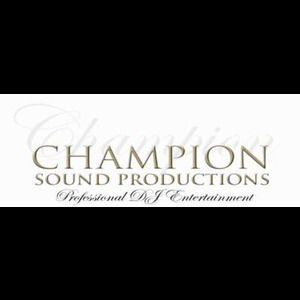 Champion Sound Productions - DJ - Marlton, NJ