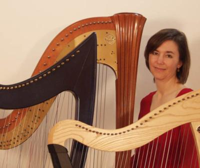 Leslie McMichael, Pluck Music | Vashon, WA | Classical Harp | Photo #1