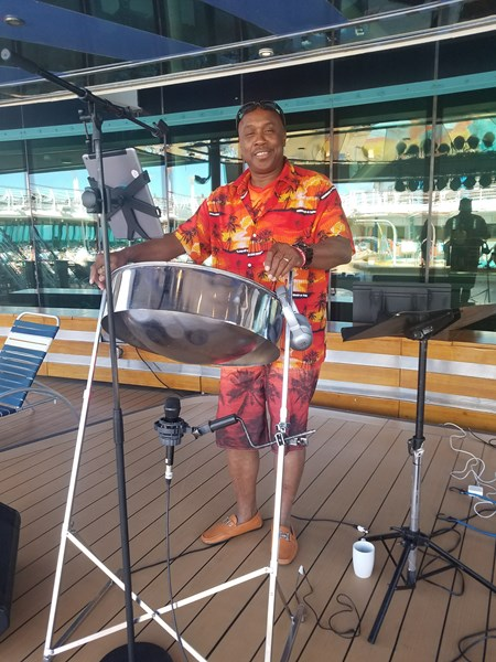 Singing at Sea Gospel Cruise 2018
