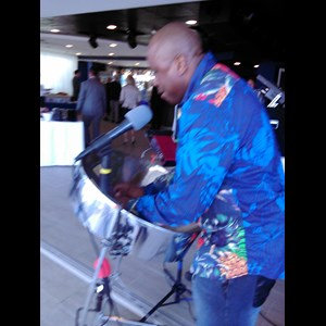 Santa Fe 90's Hits One Man Band | Sterling C Sample's Island Music Steel drums LLC