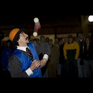 Center Lovell Clown | Keith Leaf - Amazing Fire Juggler