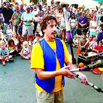 Keith Leaf - Amazing Fire Juggler | East Hampton, NY | Juggler | Photo #4