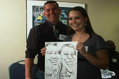 Bill's Caricatures | Jacksonville, FL | Caricaturist | Photo #23