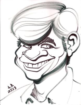 Bill's Caricatures | Jacksonville, FL | Caricaturist | Photo #3