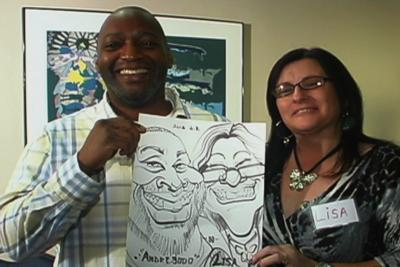 Bill's Caricatures | Jacksonville, FL | Caricaturist | Photo #24