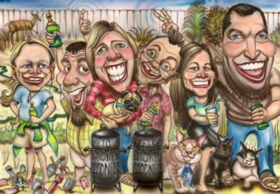 Bill's Caricatures | Jacksonville, FL | Caricaturist | Photo #2