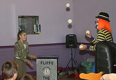 Flippo The Juggling Magician / Clown | West Boylston, MA | Clown | Photo #19