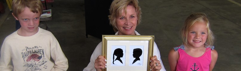 Ruth Monsell,  Silhouettist