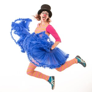 Polk Clown | Heather Pearl