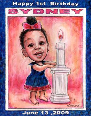 Kourosh - Creative Caricatures | Acworth, GA | Caricaturist | Photo #16