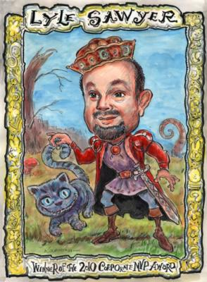 Kourosh - Creative Caricatures | Acworth, GA | Caricaturist | Photo #3