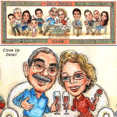 Kourosh - Creative Caricatures | Acworth, GA | Caricaturist | Photo #9