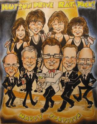 Rick Welch | Rutherford, NJ | Caricaturist | Photo #4