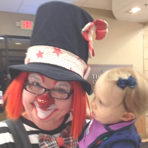 Cabarrus Clown | FourFacesForFun - Carlette Brogan