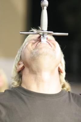 Cutting Edge Innertainment | Nashville, TN | Sword Swallower | Photo #7