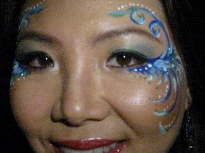 Sacred Muse Face Painting  - Face Painter - Seattle, WA