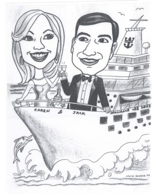 Chris Greene | Syosset, NY | Caricaturist | Photo #15