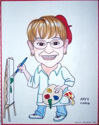 Chris Greene | Syosset, NY | Caricaturist | Photo #14