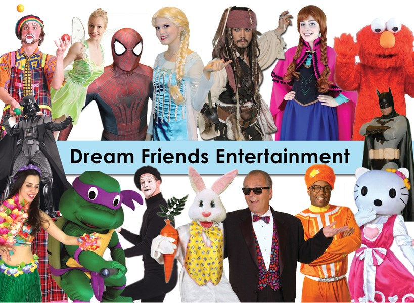 Dream Friends Entertainment - Costumed Character - Atlanta, GA