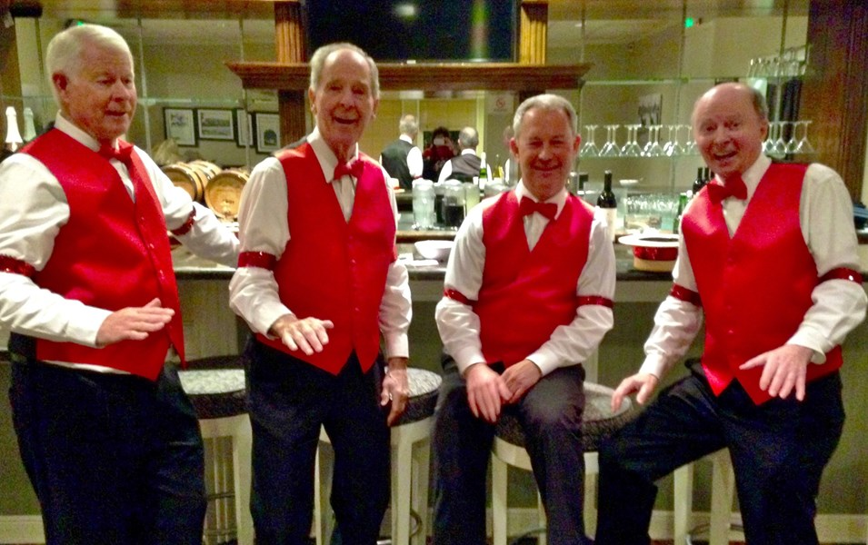 Harmony Partners - Oldies Barbershop Quartet - Irvine, CA