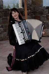 Accordionist Nada Lewis - Accordion Player - Berkeley, CA