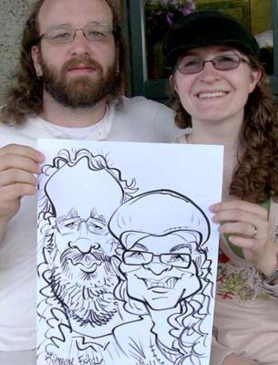 Brian Vasilik -  Caricaturist And Illustrator | Asheville, NC | Caricaturist | Photo #20