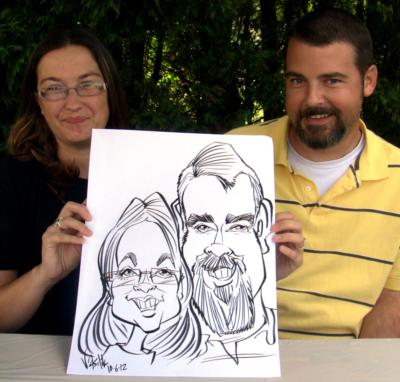 Brian Vasilik -  Caricaturist And Illustrator | Asheville, NC | Caricaturist | Photo #21